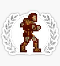 Simon Belmont - Sprite Badge Sticker