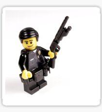 LAPD Patrol Officer - Custom LEGO Minifigure Sticker
