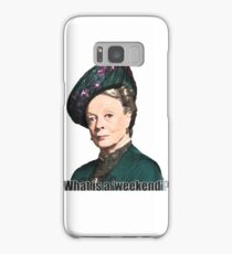 The Dowager Countess Samsung Galaxy Case/Skin