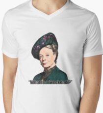 The Dowager Countess Mens V-Neck T-Shirt