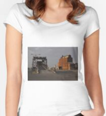 A Touch of Port Adelaide History Women's Fitted Scoop T-Shirt