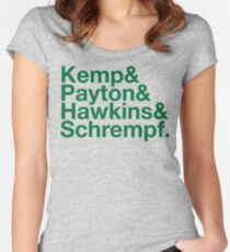 Reign in Seattle Women's Fitted Scoop T-Shirt