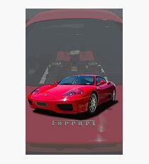 360 Modena Photographic Print