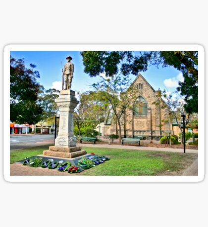 Blackwood Church Memorial Sticker