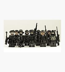 LEGO Snipers Photographic Print