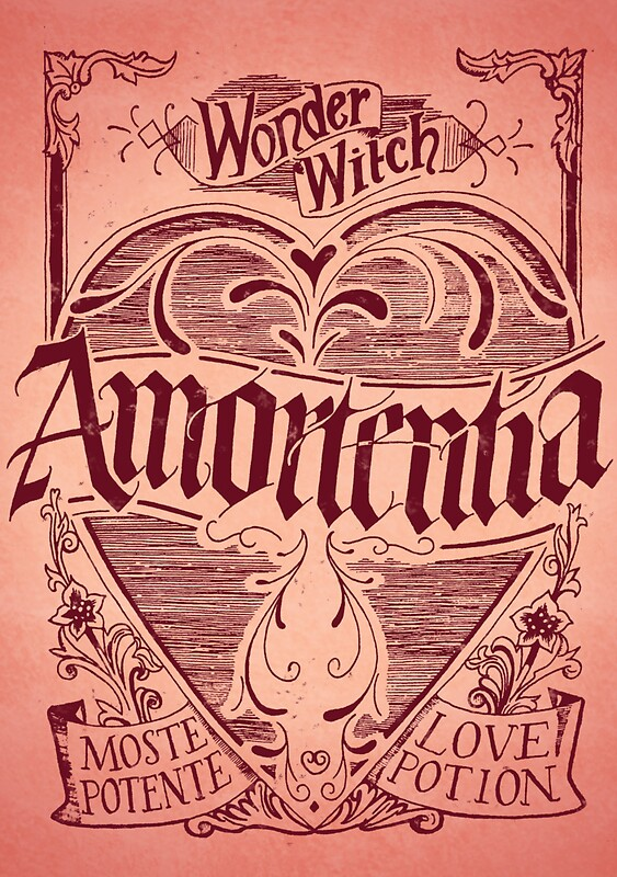 amortentia stickers by pietowel redbubble