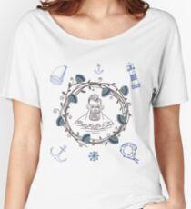 sailor  Women's Relaxed Fit T-Shirt