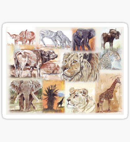 Lodge décor - South Africa's wildlife wonders Sticker