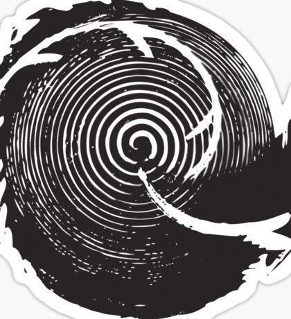 The Twilight Zone : BW // DJ Sticker