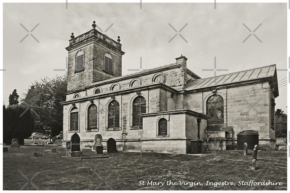 St Mary the Virgin Church, Ingestre by Yampimon