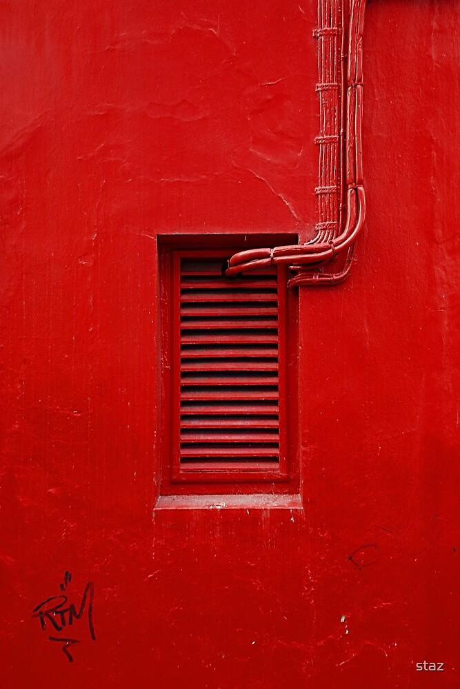 red by staz