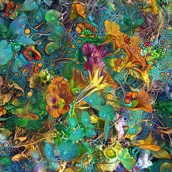 Deep dream abstraction
