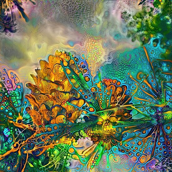 Deep dream abstraction ...