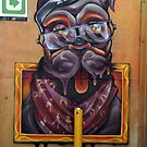 Street Art  Melbourne  #141 by bekyimage