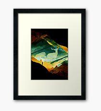 Native DreamCatcher Framed Print