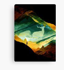 Native DreamCatcher Canvas Print