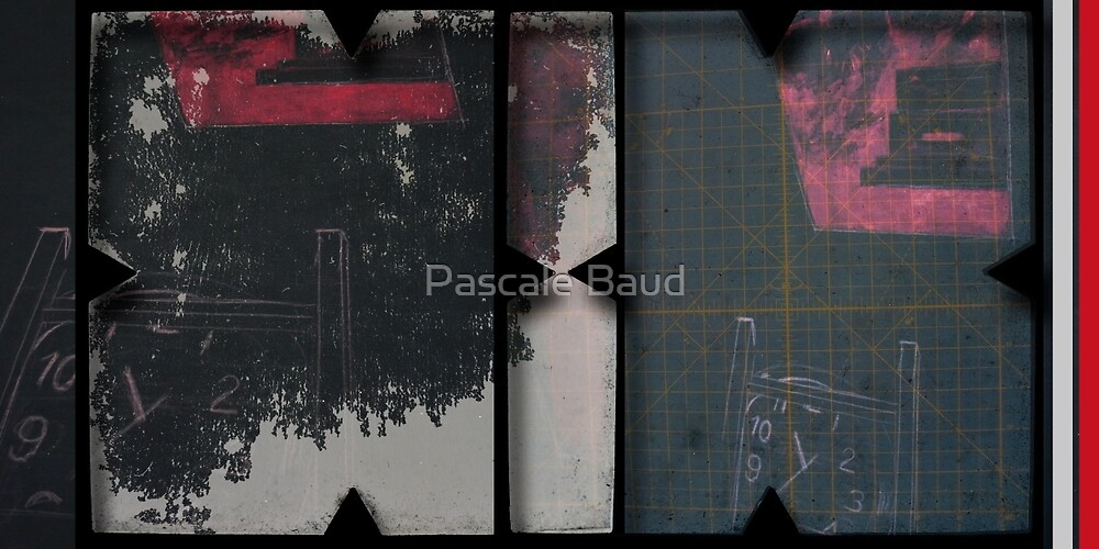Open work about Open red (1) by Pascale Baud