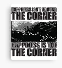Happy Corner Canvas Print