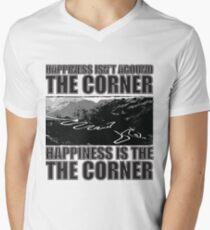 Happy Corner V-Neck T-Shirt