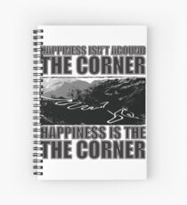 Happy Corner Spiral Notebook