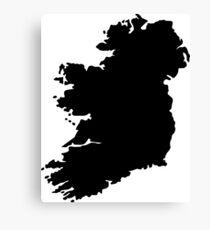 Map of Ireland Canvas Print