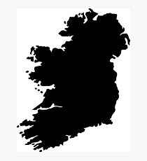 Map of Ireland Photographic Print