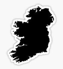 Map of Ireland Sticker