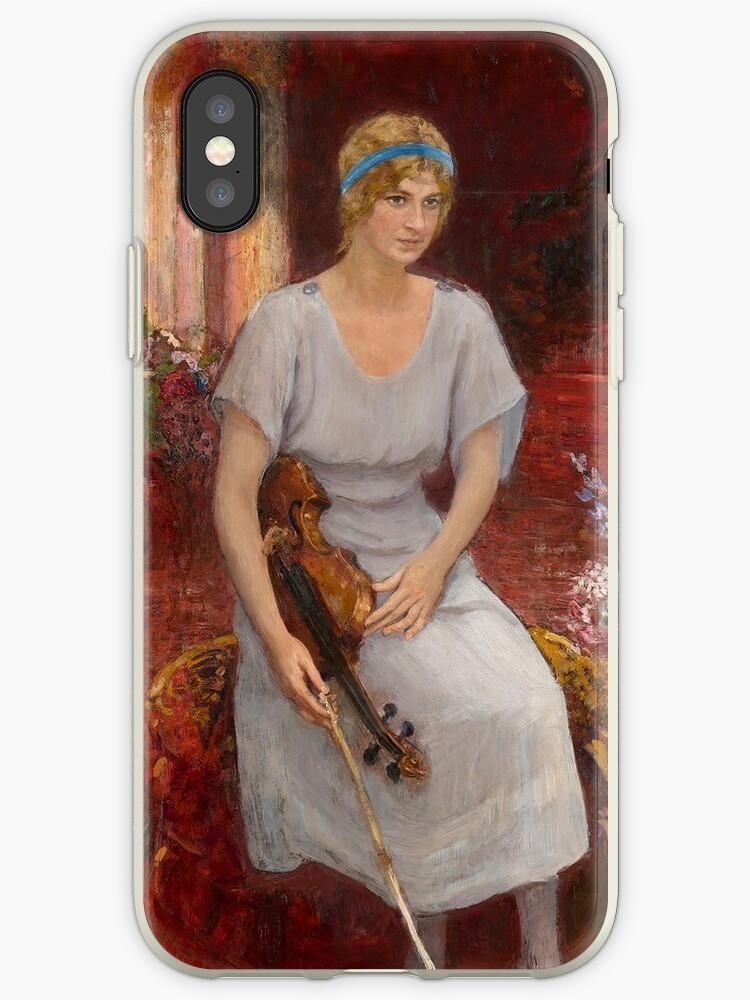 REPIN, ILYA - Portrait of the Violinist Cecilia Hansen by MotionAge Media