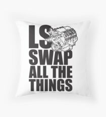 LS All The Things Throw Pillow