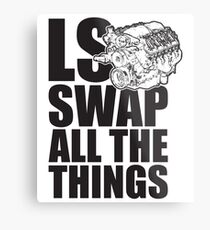 LS All The Things Metal Print