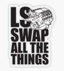 LS All The Things Transparent Sticker