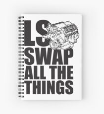 LS All The Things Spiral Notebook