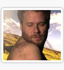 Seth Rogen Hella Ugly shirt  Sticker