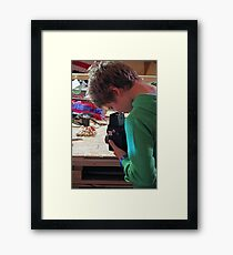 Old Fashioned Photography Framed Print