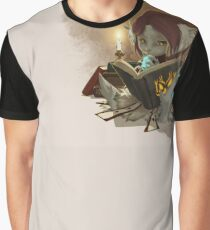 Candlelight Reading Graphic T-Shirt