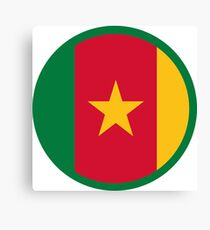 Marked by Cameroon Canvas Print