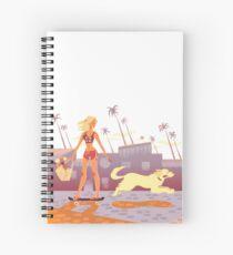 Seventies Spiral Notebook