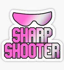 BRET HART - SHARPSHOOTER Sticker