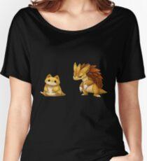 Pokemon Sandshrew Evolution Women's Relaxed Fit T-Shirt