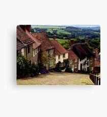 Gold Hill - Dorset Canvas Print