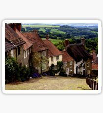 Gold Hill - Dorset Sticker