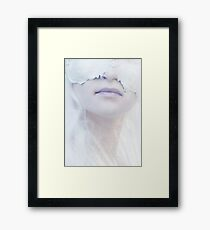 a cold heart is blind Framed Print