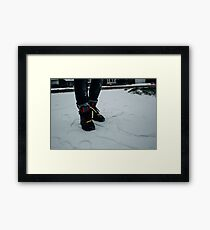 Nike Air Force 1 x Tisci Framed Print