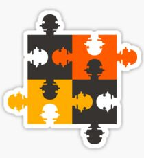 PUZZLED Sticker