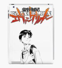 Trauriger Shinji iPad-Hülle & Klebefolie