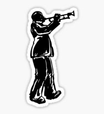 New York Boogie Nights Trumpet Sticker