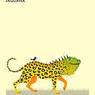 J is for JAGUANA by JazzberryBlue