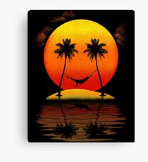Sweet Smile of Sunset Canvas Print