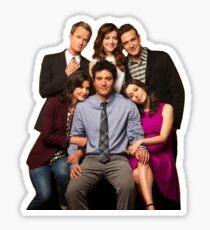 How I Met Your Mother - Final Cast Sticker