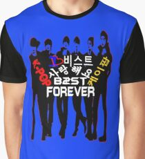 ♥♫I Love B2ST Forever Splendiferous K-Pop Clothes & Stickers♪♥ Graphic T-Shirt